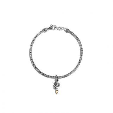 John Hardy Silver & Gold Legends Cobra Women's Charm Bracelet